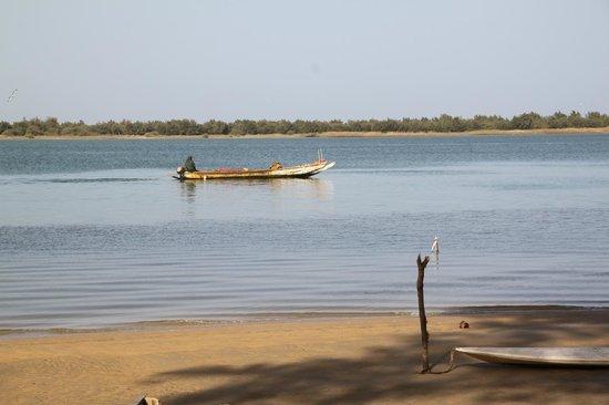 Le Teranga Gandiol: la Langue de Barbarie vista dalla spiaggia del Teranga