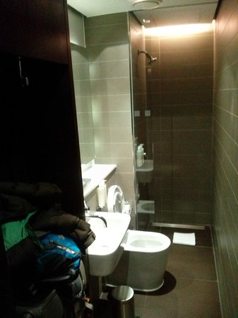 Andaz London Liverpool Street: one of several cubicles in gym area