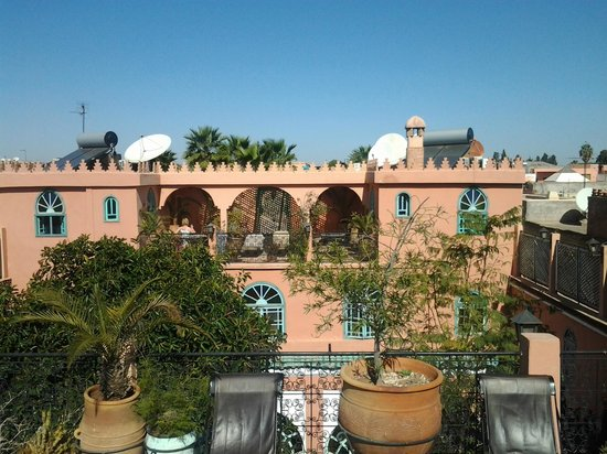 Riad Catalina : Terrace for rooms 307 and 308