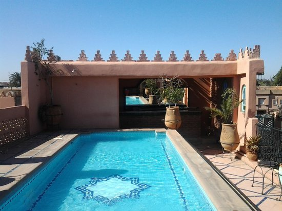Riad Catalina: Rooftop pool