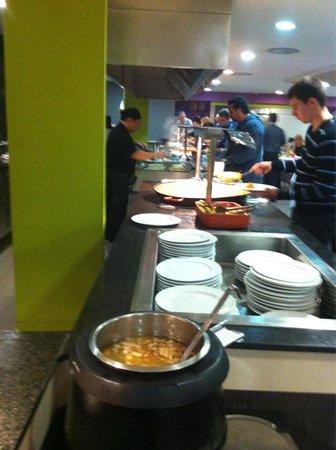 Nuba Hotel Comarruga: Toda toda la comida exquisita y variada