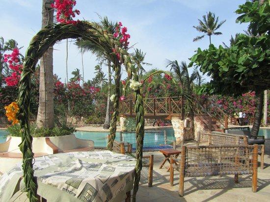 Palumboreef Beach Resort: Preparativi alla vigilia di natale