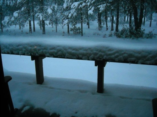 Sunriver Resort: Back Deck Mid Week