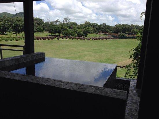 Anahita Golf & Spa Resort: Vie de la terrasse