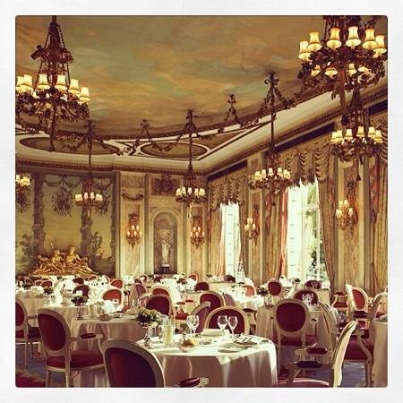 The Ritz London: breafast room