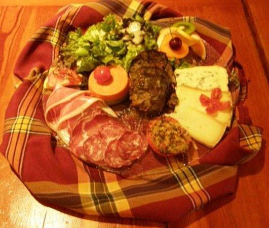 La Marenda: assiette terroir