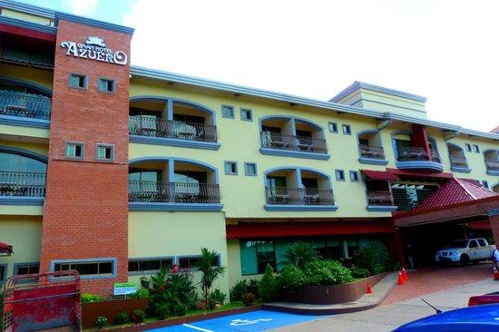Fachada del Gran Hotel Azuero
