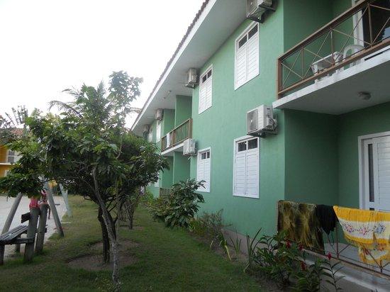 Boulevard da Praia Hotel : apartamentos mas tranquilos sao