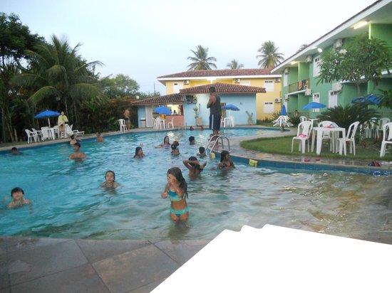 Boulevard da Praia Hotel : piscina  quentinha uma delicia