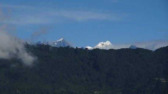 The Elgin Nor-Khill, Gangtok: Room view up to Himalaya Range