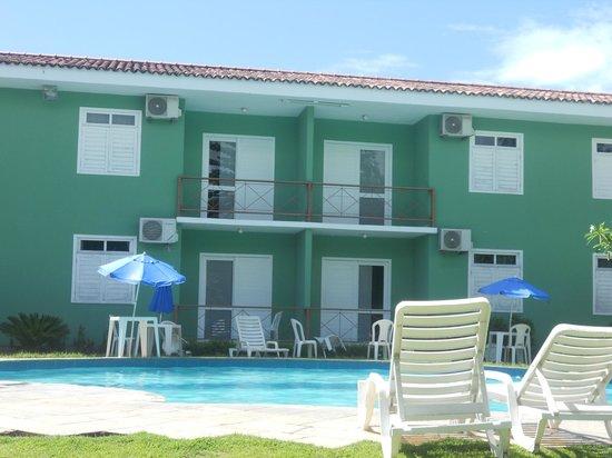 Boulevard da Praia Hotel: apart  vista pra piscina