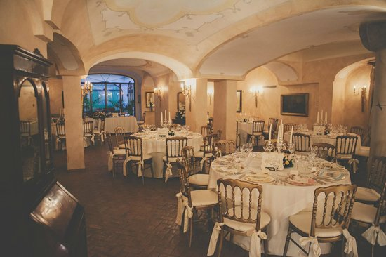 Palazzo Marziale: Decorated Dinner Room