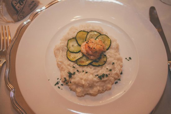 Palazzo Marziale : First Course - Lemon Risotto