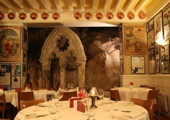 Hôtel Restaurant La Mère Poulard : Ресторан