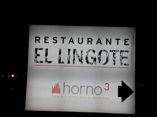 El Lingote Restaurante : Entrada