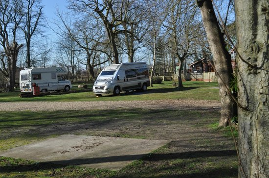 Cliff House Holiday Park: Already ariving this year with our 12 month camping and touring