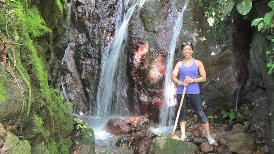 Costa Rica Waterfall Tours : Falls at the Rain Maker