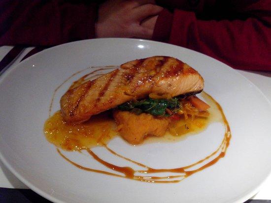 El Lingote Restaurante : Salmón glaseado