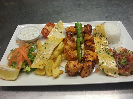 Akdeniz Mediterranean Restaurant: chicken shish
