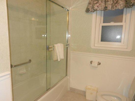 Carmel Bay View Inn: Baño