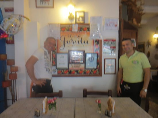 El Mole de Jovita: Sergio and Roberto, owners
