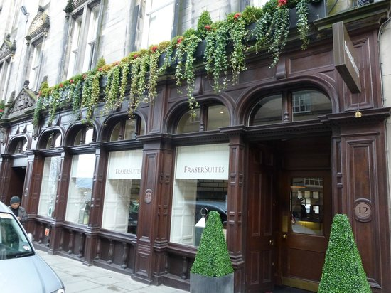 Fraser Suites Edinburgh : La façade du Fraser Suites