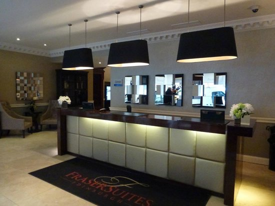 Fraser Suites Edinburgh : La réception