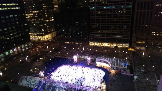 The Bryant Park Hotel : ice rink