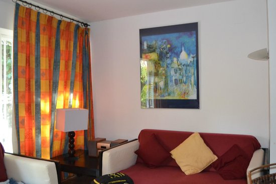 Hotel Los Globos: Una zona del comedor