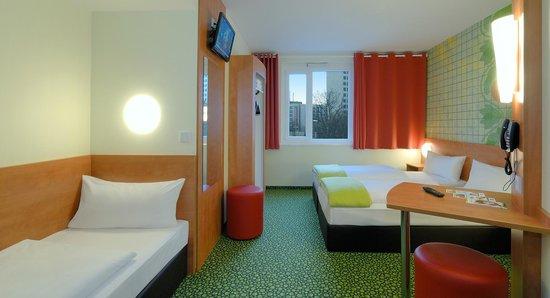 B&B Hotel Frankfurt-West - Familienzimmer für 3 Personen