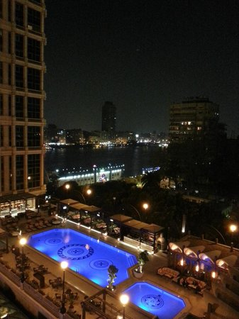 Four Seasons Hotel Cairo at the First Residence: View from room