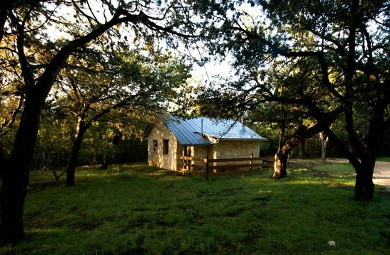 Mayan Dude Ranch: Rose Cabin - romantic stone cottage
