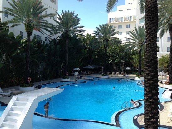 The Raleigh Miami Beach: pool area