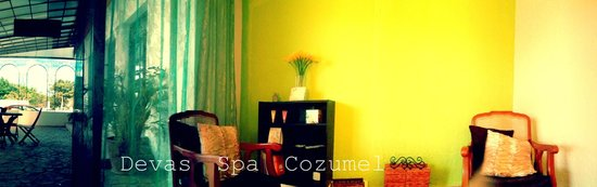 Devas Spa Cozumel: this is the waiting area