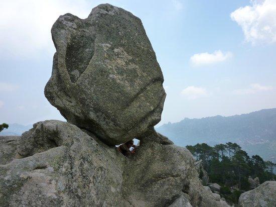 Piscia di Gallu : roccia
