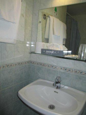 Arthur Hotel: ванная
