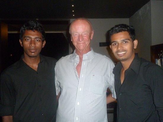 16 Degrees North: Brian with Malik and Shailish