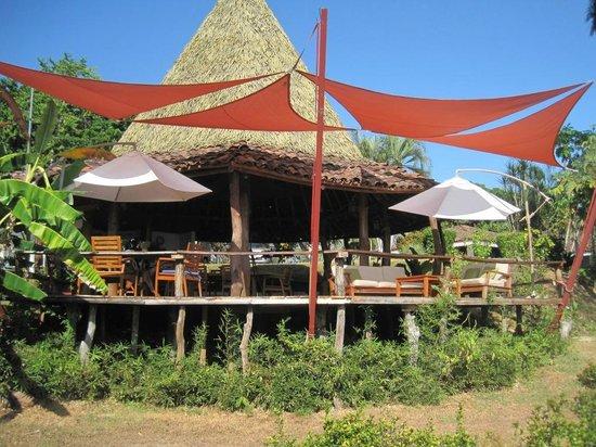 Cristal Azul: The restaurant/bar area