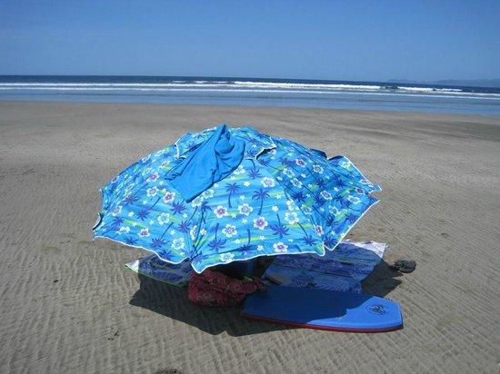 Cristal Azul: The beach