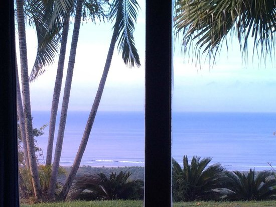 Cristal Azul: View from our bed!