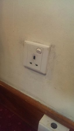 York International Hotel : dirty sockets