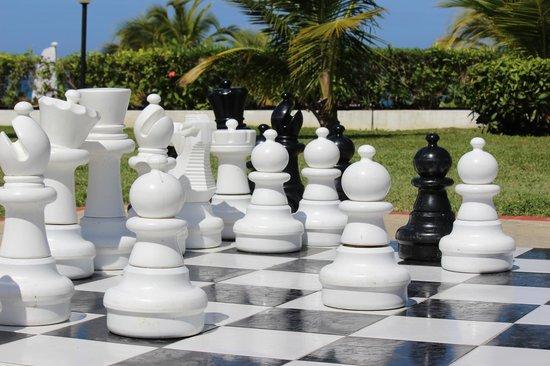 Grand Bahia Principe Jamaica : Giant Chess board