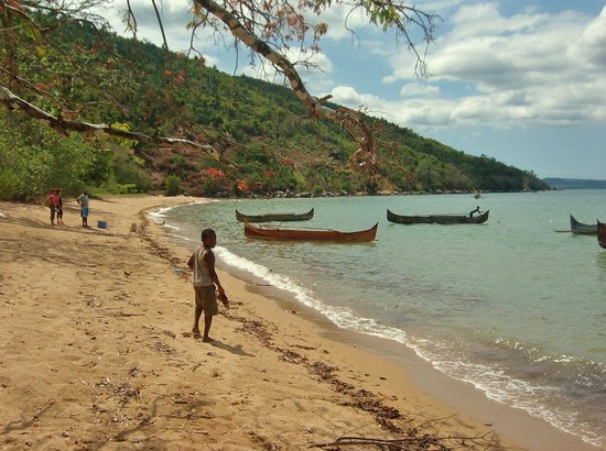 Lokobe Nature Special Reserve: bambino pescatore