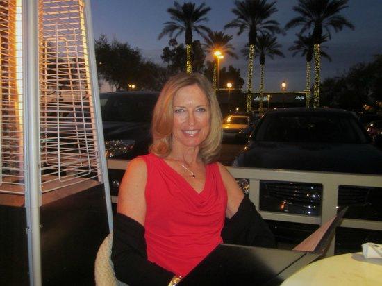 Cuttlefish restaurant Scottsdale: outdoor seating