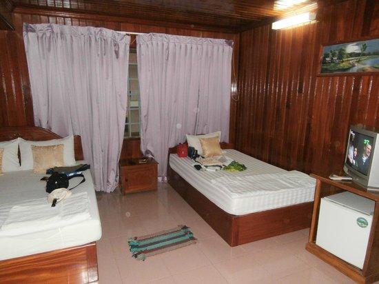 Ponloue Angkor Siem Reap Villa : Chambre
