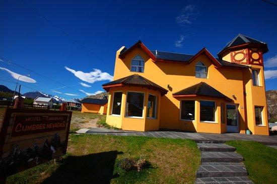 Hotel Cumbres Nevadas: entrée de l'hôtel