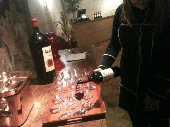 Rendez-vous au Chateau: Dégustation/tasting at Chateau Figeac