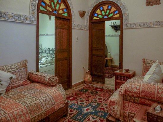 Riad Lahboul : First floor apartment