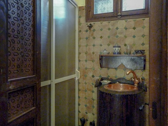Riad Lahboul : Bathroom