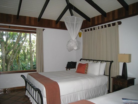 Belcampo Lodge: Suite #4 features two very comfortable king beds with heavenly  linens and towels
